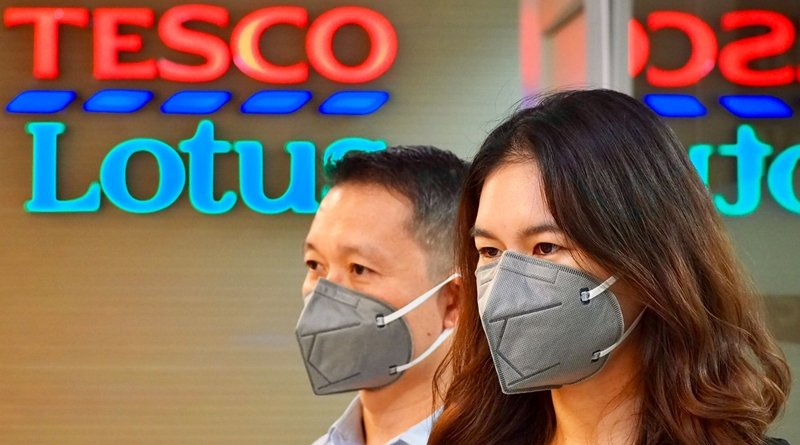 Tesco Lotus to give away 20,000 N95 masks to customers and colleagues in 10 districts of Bangkok with highest dust concentration