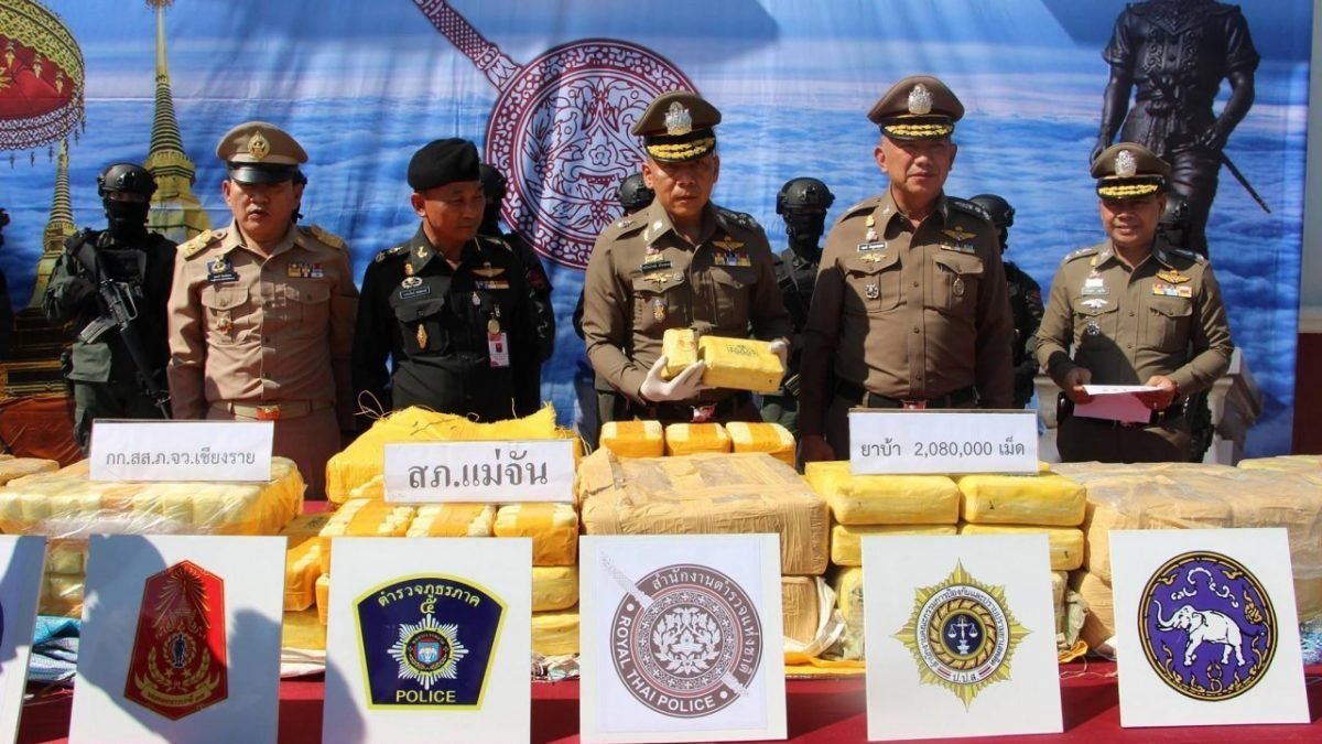 Thailand, 3 countries to join hands against drug trafficking