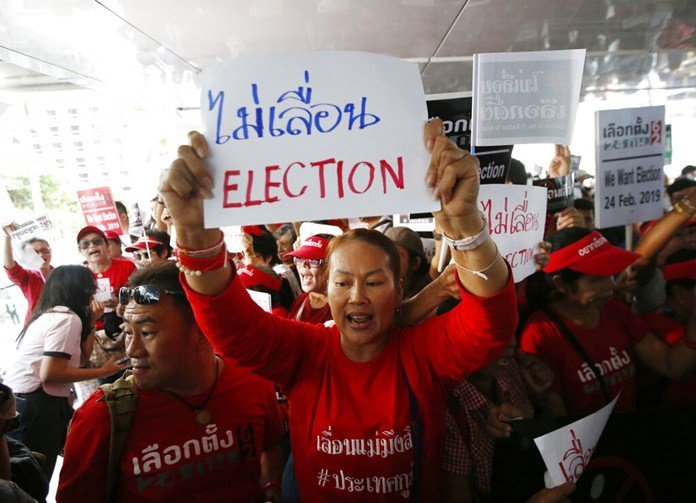 Thailand sets date of first general election since coup