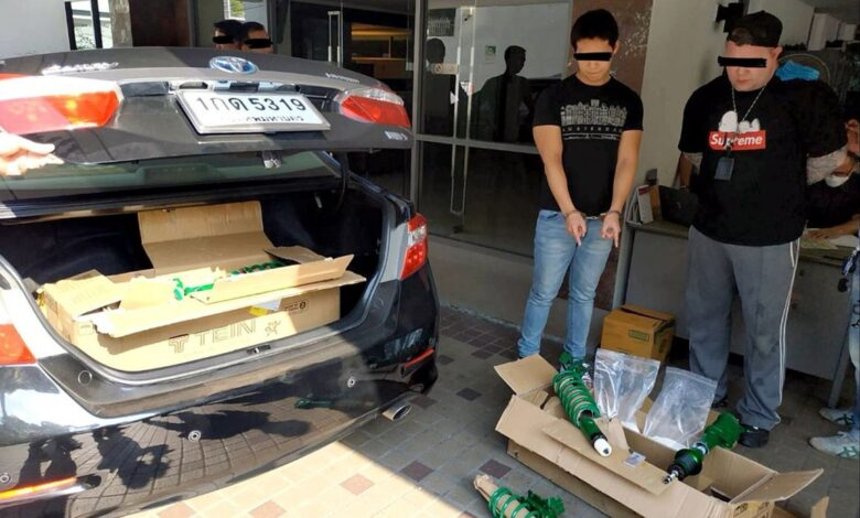 Two arrested in crackdown on transnational drug ring. A Canadian man and his Thai male accomplice have been arrested in a joint operation to crack