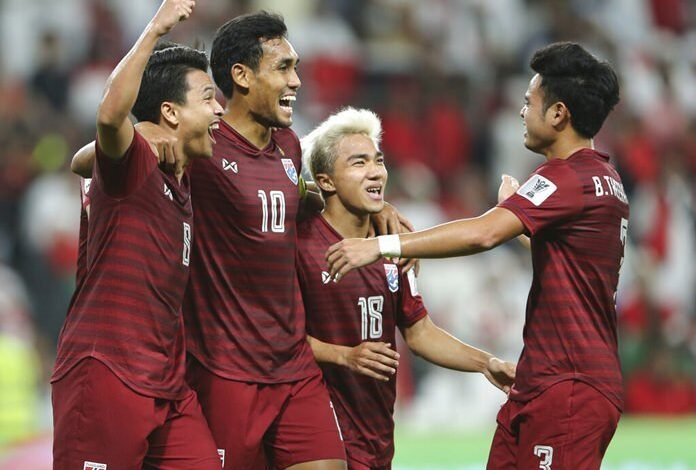 UAE, Thailand make Asian Cup last 16, heartbreak for India. Thailand's decision to change coaches continued to prove to be a masterstroke but there was