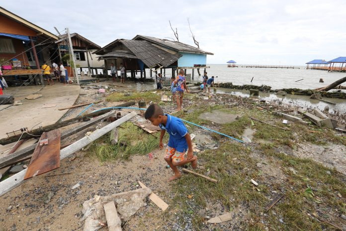WEAKENED 'PABUK' MOVES TO ANDAMAN; EFFECTS TO BE FELT IN BANGKOK, The tropical storm that left at least two people dead and hundreds