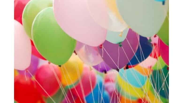 Warning issued after hydrogen-filled balloon injures boy. After three people were injured on January 2 when a hydrogen-filled party balloon exploded