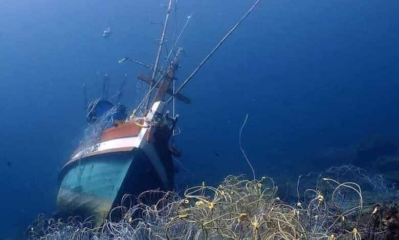Wreck at Koh Racha Noi damages coral. More than 50 square metres of coral has been damaged after a fishing boat sank at Koh Racha Noi off Phuket.