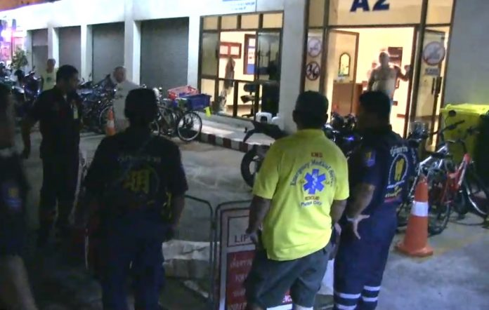 BRITON FALLS TO DEATH IN BALCONY 'SUICIDE' A British national fell to his death near Pattaya last night, police said.The 60-year-old man was found