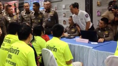 Chinese 'beggars' arrested across Bangkok. Six Chinese people have been arrested for begging across Bangkok, Thai immigration