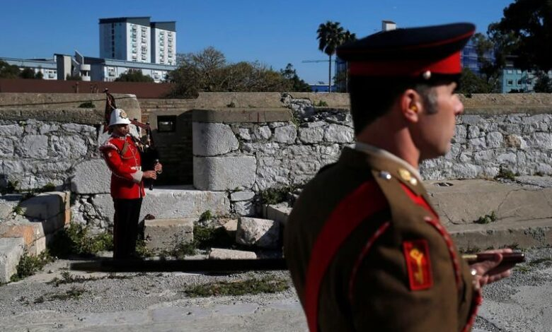 "Colony or not, we're British, say Gibraltarians. And keep the border open. With London fuming over whether Gibraltar should still be called a ""colony"","