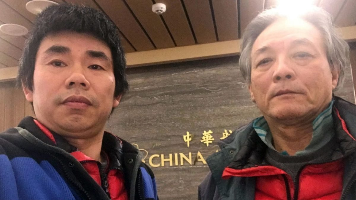 Dissidents trapped inside Taiwan airport allowed in after 125 days