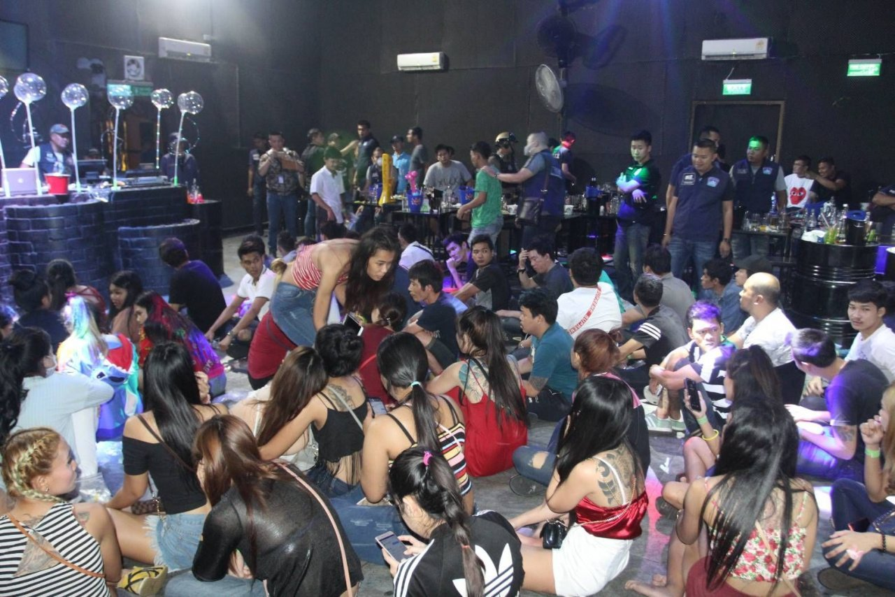 Drugs, underage drinkers found in Bangkok club raid A raid on a Bangkok nightclub early Friday morning uncovered 40 patrons under age 20,