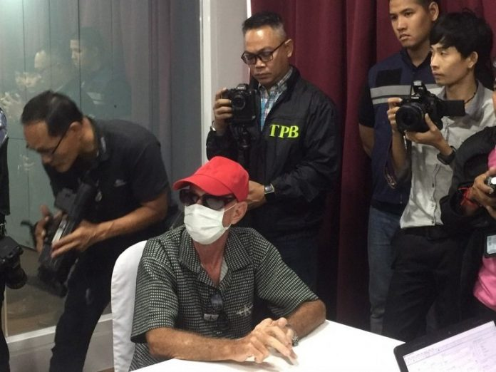 Dutch fugitive on 5 year overstay arrested in Chon Buri for alleged human trafficking