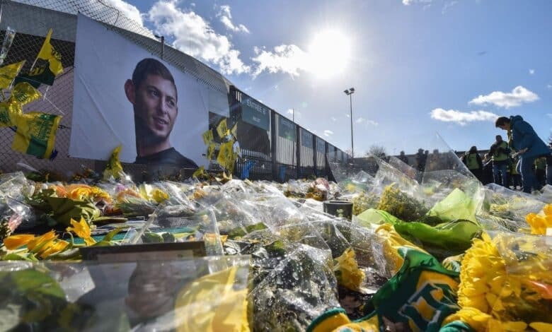 "Footballer Sala killed by head, trunk injuries: inquest. Argentine footballer Emiliano Sala died of ""head and trunk injuries"", an inquest in"