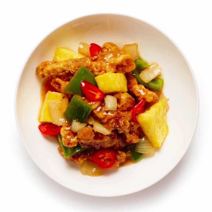 How to cook the perfect sweet and sour pork, Had enough of the sticky, sugary sauce found in high-street takeaways? Here's a sharp, fruity