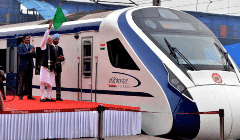 India's New High Speed Train Breaks Down On First Trip After Hitting Cow. India'snew high speed train has made an inauspicious start to life on the rails