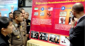 Iranians arrested with fake Spanish passports. Two Iranians have been arrested in Bangkok using fake Spanish passports, Immigration Bureau commissioner