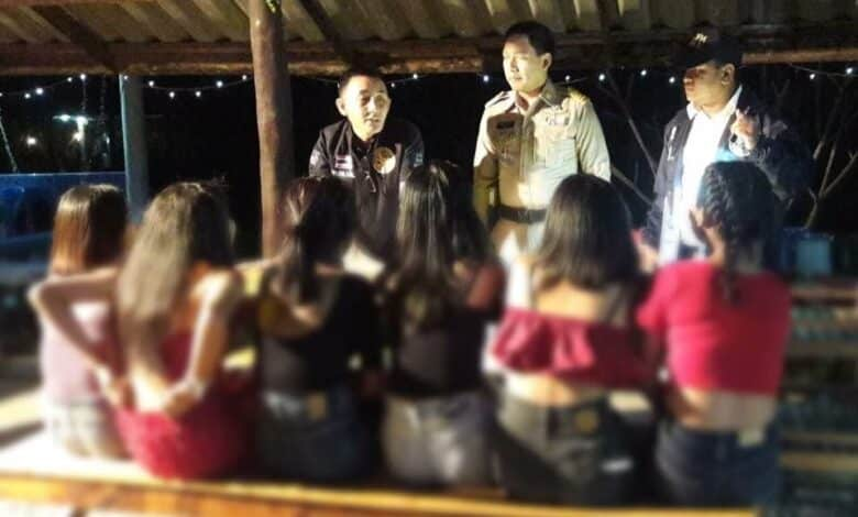 Karaoke bars raided, teenagers rescued, in underage sex probe. Four simultaneous raids have been carried out on karaoke bars in Nakhon Ratchasima's