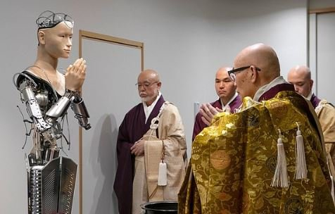 Meet the AI monk: Buddhist robot costing £700,000 is now delivering religious teachings at a 400-year-old temple in the Japanese city of Kyoto