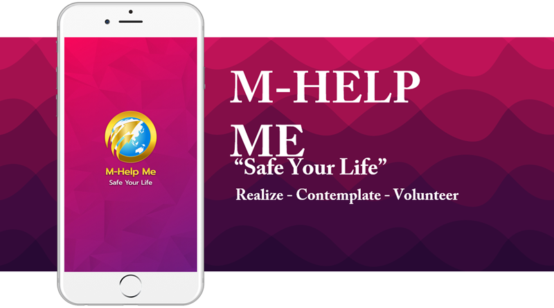 """New """"M-Help Me"""" application from the Traffic Police."""