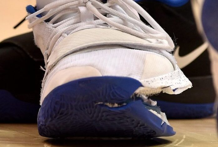 Nike share price plunges by $1.1bn after college basketball star's shoe failure. Nike has had $1.1bn (£844m) knocked off its stock value as the fallout