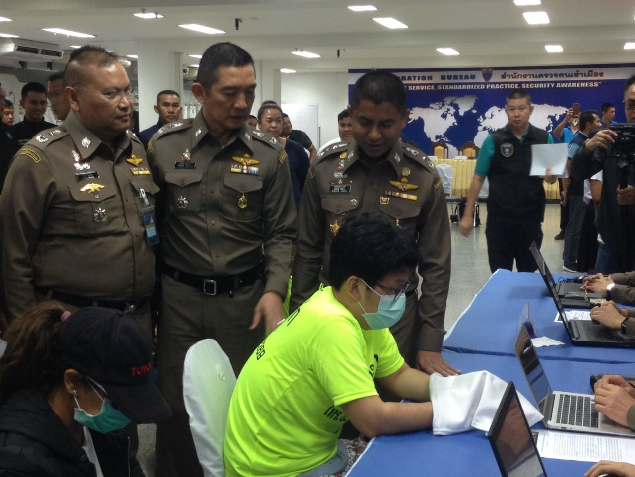 S Korean arrested in Bangkok over fake lottery website. A South Korean man has been arrested in Bangkok on Wednesday following an arrest