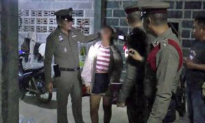 Teenage mother slashes three-year-old son's throat in Yasothon. A teenage mother slashed her three-year-old son's throat with a kitchen knife and then