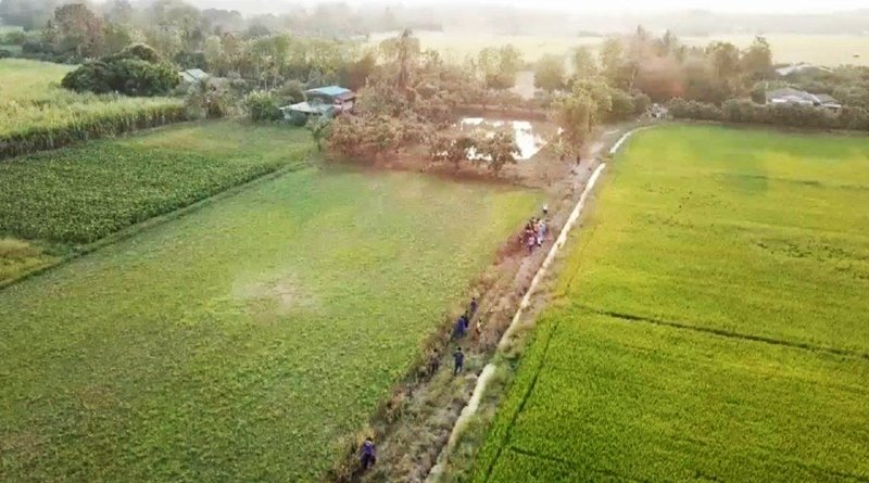 Thai police are using Drones to catch suspect on the run. Police are using drones to keep an eye on suspects on the run. The new adoption of technology