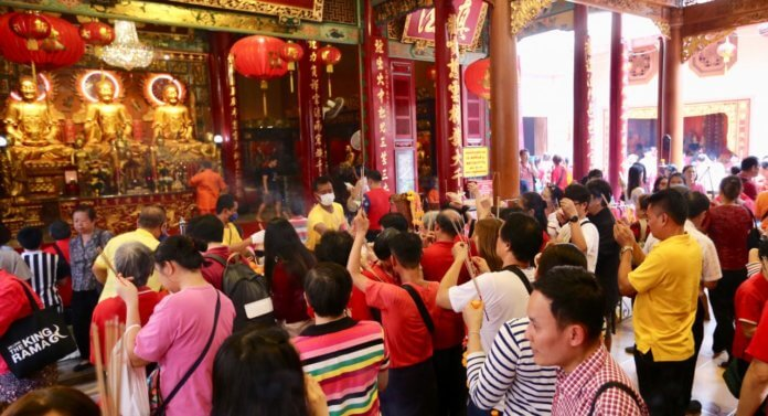 Thailand top New Year holiday spot for Chinese travellers