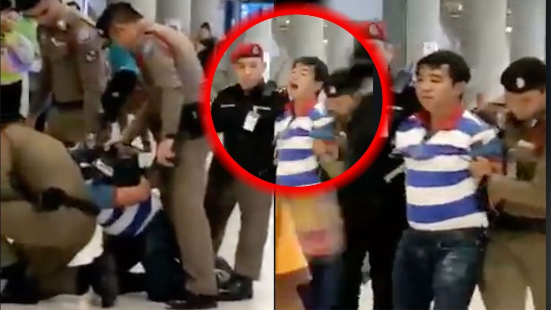 Tour guide who can't speak Thai arrested at Suvarnabhumi Airport. A tour guide, with an apparently valid licence but who cannot speak Thai, has been