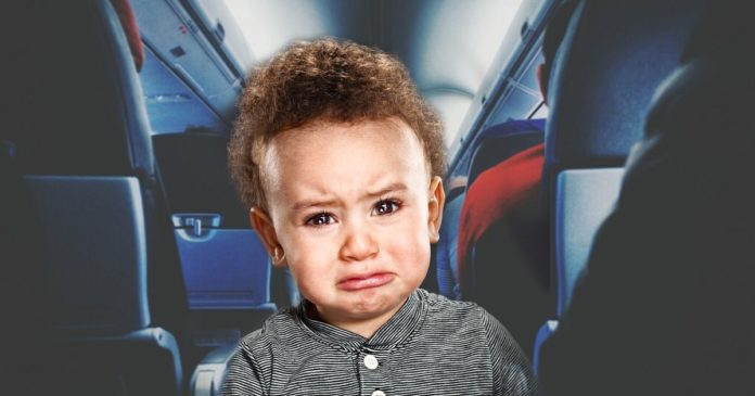 Why Do Babies Cry on Airplanes?