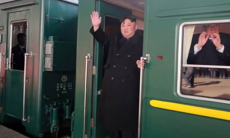 Why is Kim taking 60-hour train trip? North Korean leader Kim Jong-un is on his way to Hanoi, Vietnam, for his second summit with US President Donald