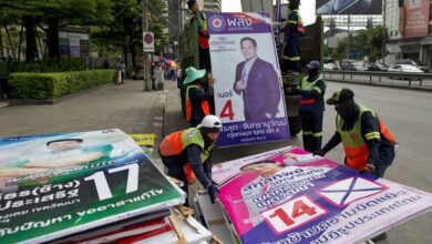 Election Commission says Palang Pracharath party won popular vote. Thailand's Election Commission said Thursday that 100 percent of the votes from