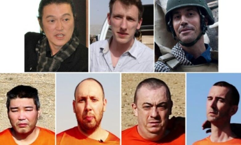 Foreign hostages executed under the IS 'caliphate' The Islamic State jihadist group executed a string of foreign hostages under its self-declared