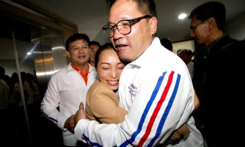 Military-backed Palang Pracharat party leads Thailand's post-coup election. A military-backed party has taken the lead in Thailand's first election since