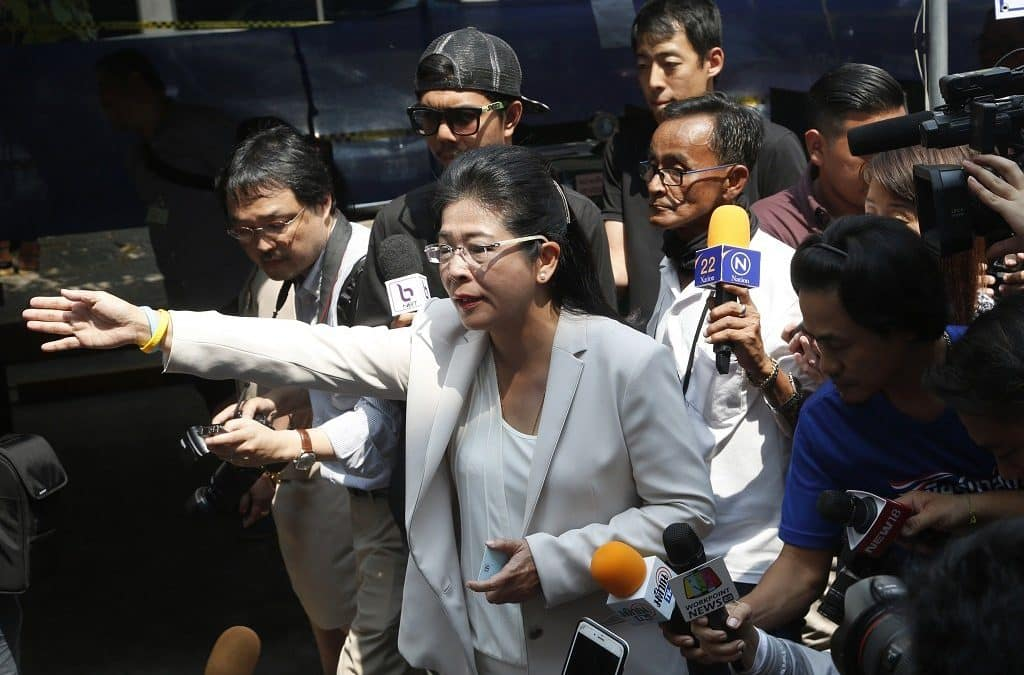 Ousted Thai party confident of election win