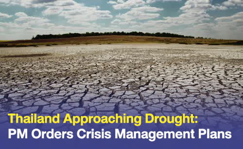 PM expresses concerns over drought issues, orders crisis management plans. The Prime Minister has expressed concerns over the possibility of drought