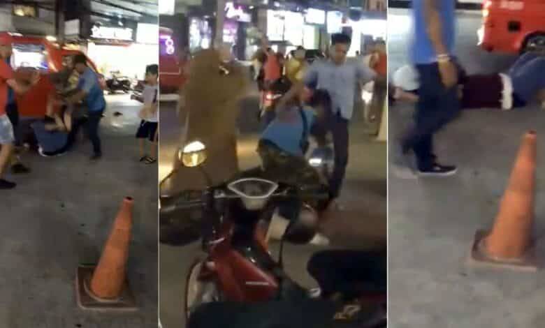 Patong taxi driver suspects arrested after tourist assaulted. Six suspects were arrested on Friday following an assault by a group of taxi, tuk tuk