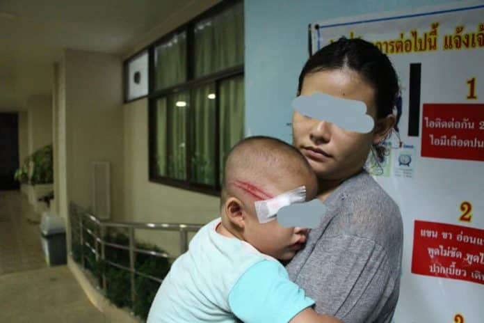 Pattaya Police Volunteer who injured toddler at Police Checkpoint. Police yesterday identified the volunteer in question as Jakkapop Boonrod and summoned