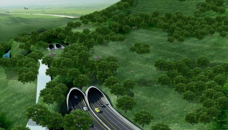 "Thailand's first ever ""Wildlife Overpass"". The Thaigov Spokesman facebook page shared a story on Thailand's first time ever to have a wildlife"