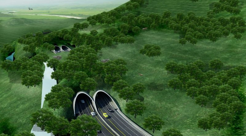 """Thailand's first ever """"Wildlife Overpass"""". The Thaigov Spokesman facebook page shared a story on Thailand's first time ever to have a wildlife"""