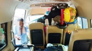 11 Myanmar workers pass out in Van all at once. A group of Myanmar workers decided to rent a van with a driver to head back to Myanmar for the Songkran