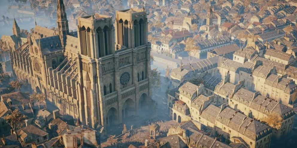 ASSASSIN'S CREED: UNITY WILL BE USED TO HELP REBUILD NOTRE DAME