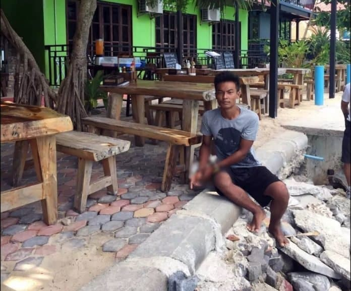 BRITISH TOURIST RAPED ON PHI PHI ISLAND, POLICE SAY A man is under arrest on suspicion of sexually assaulting a British tourist on the popular