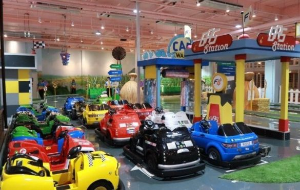 """Bangkok's largest indoor playground opens in Megabangna HBL Group, a leader in building indoor playgrounds in Asia, will soon open the Bt350-million """"Mega"""
