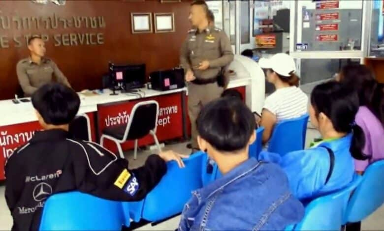 Border patrol police officers transferred over attack on youth. Ten officers under the 237th border patrol police company in Nakhon Panom province were