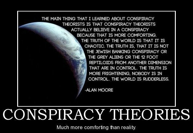 When things just don't add up!…Conspiracy Theories?