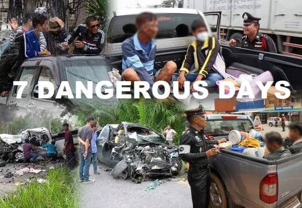 Drunk drivers causing fatal accidents to be charged with MURDER Thailand's Deputy Prime Minister and Defense Minister Prawit Wongsuwon has ordered the Royal