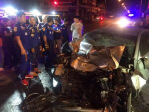 Dutch motorist becomes first fatality of Kanchanaburi's 'Seven Dangerous Days' A Dutch tourist was killed when his car hit the rear of a trailer truck in