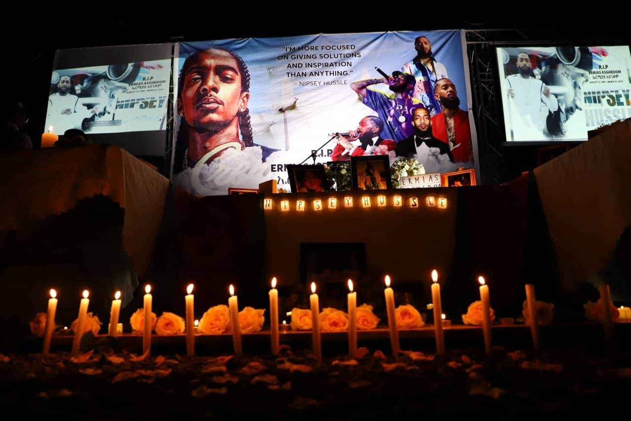 Ethiopians bid farewell to slain rapper Nipsey Hussle With poems and speeches, Ethiopians have held an emotional farewell for murdered rapper