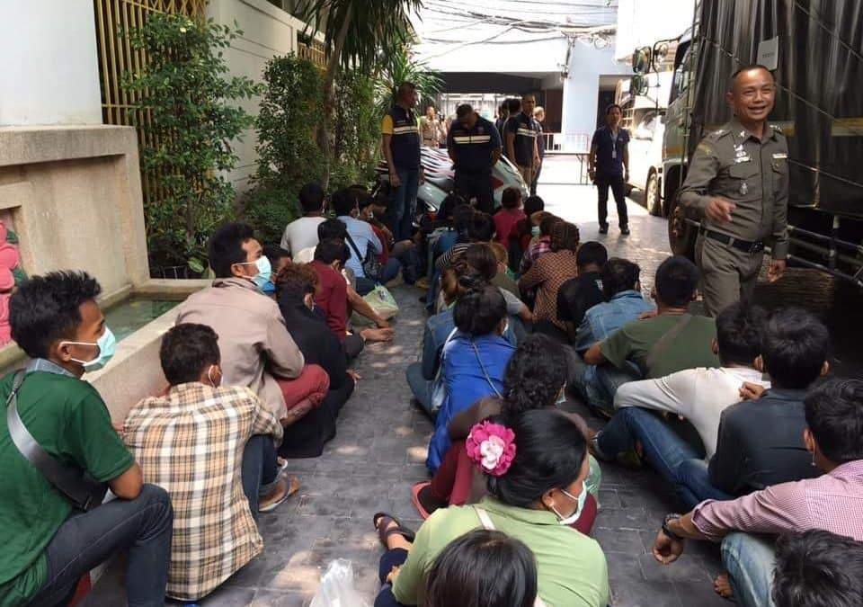 Four Thais arrested in migrant smuggling raid