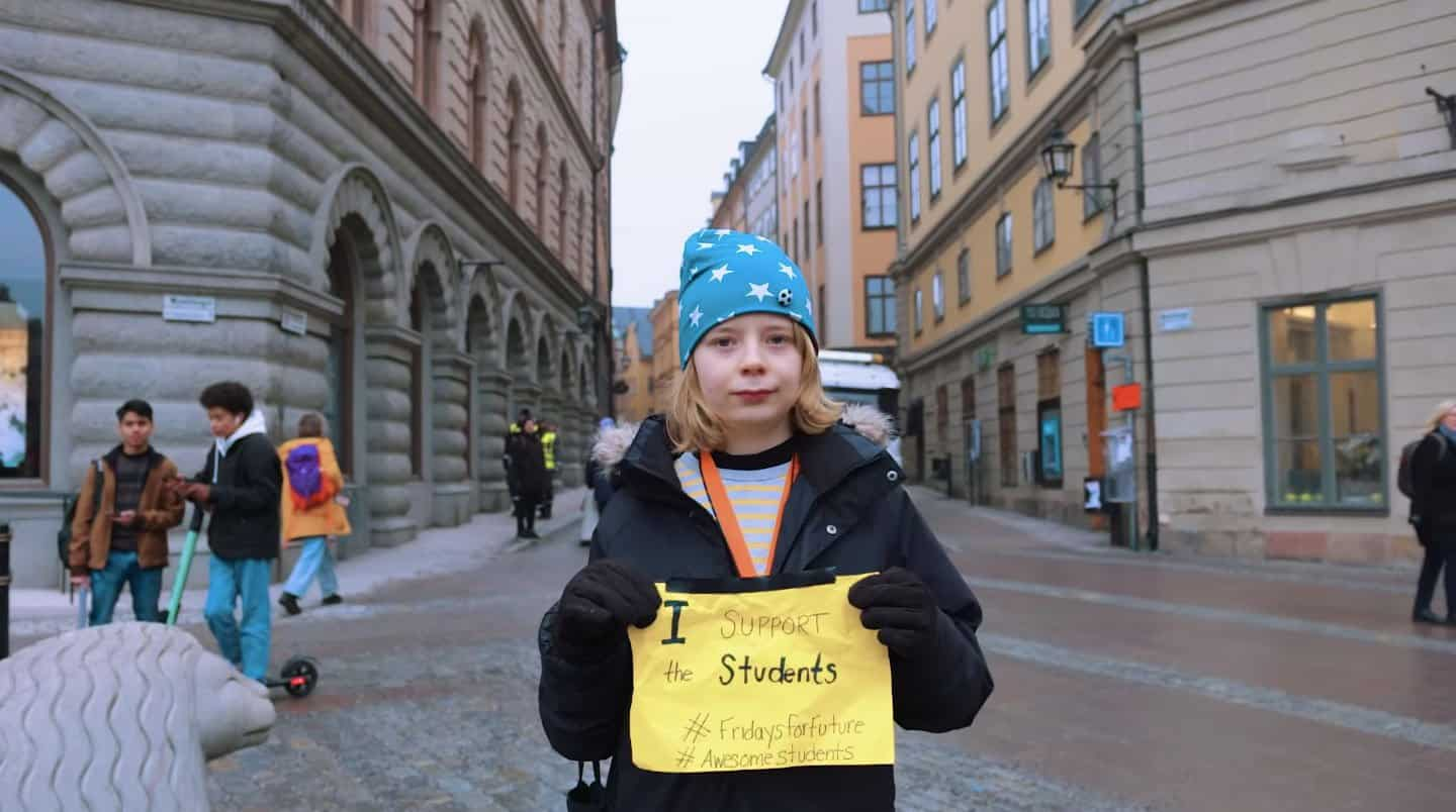 This 16-Year-Old Named Greta is Leading a Global Climate Movement
