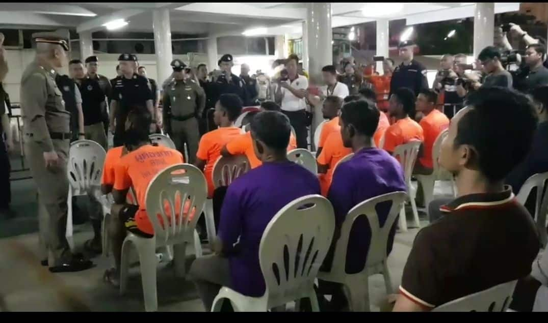 Hundreds more foreigners arrested for being in Thailand illegally